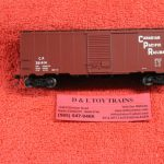 20002434 Atlas HO scale Canadian Pacific 40' post war boxcar