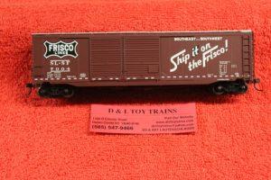 20003312 Atlas HO scale Frisco 50' double door boxcar