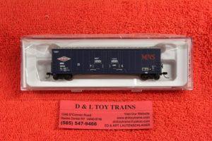 50002289 Atlas N scale Minneapolis Northfield Southern 53' Evans double plug door boxcar