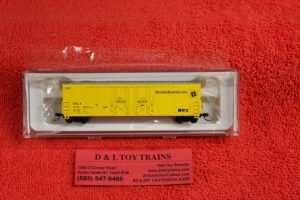 50002292 Atlas N scale Brooks Scanion 53' Evans double plug door boxcar