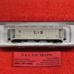 50002908 Atlas N scale Louisville Nashville 3500 dry flo hopper car