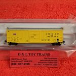 "50004278 Atlas N scale Green Bay Western ACF 50'6"" box car"