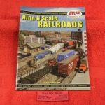 #7 Atlas N scale 9 railroads track plan book