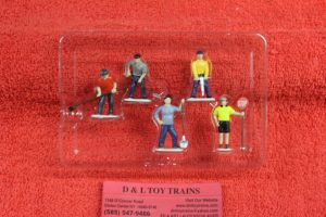 14241 Lionel O scale Work Crew people pack