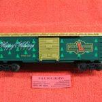 16291 Lionel O scale 3 rail 1998 O Gauge Christmas boxcar