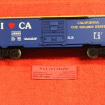 19905 Lionel O-27 scale 3 rail I Love California boxcar