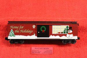 20-80002 MTH O scale 3 rail 2000 Christmas Boxcar