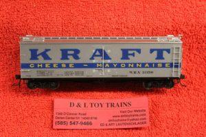 20002011 Atlas HO scale Kraft 40' wood side reefer car