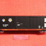 """2001042 Atlas O scale 3 rail Norfolk Southern First Responders 50'6"""" ACF boxcar"""