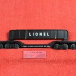 26971 Lionel O scale 3 rail Lionel Steel 16 wheel flatcar with girders