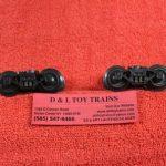 2833 O scale 3 rail die cast sprung trucks