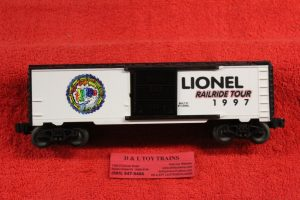 29225 Lionel O-27scale 3 rail 1997 Horde Festival boxcar