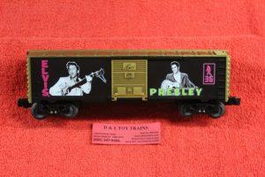 29980 Lionel O scale 3 rail Elvis Presley box car