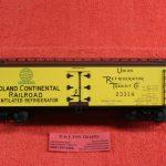 3001515 Atlas O scale 3 rail Midland Continental Railroad 40' wood side reefer car