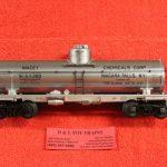 3003823 Atlas O scale 3 rail Niacet Chemical 8,000 gallon tank car