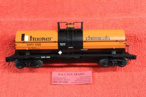 3005509 Atlas O scale 3 rail Hooker Chemical 11,00 gallon tank car