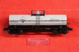 3005513 Atlas O scale 3 rail Jefferson Chemical 11,000 gallon tank car