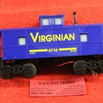 6116 K line O-27 scale 3 rail Virginian center cupola caboose