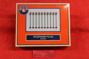 62181 Lionel O scale telephone poles