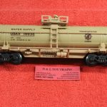 632-8030 K Line O-27 scale 3 rail Operation Iraqi Freedom single dome tank car