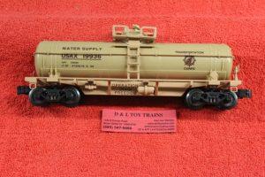 632-8030 K Line O-27 scale 3 rail Operation Iraqi Freedom single dome tank car