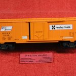 640-8011 K Line O-27 scale 3 rail Hersey's Foods boxcar