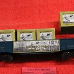 6554 K Line O-27scale 3 rail Goosecross Cellars gondola car