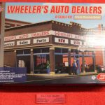 6917 Atlas O scale Wheeler's Auto Dealers building kit