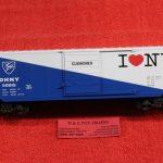 765-1451 K Line O scale 3 rail I Love NY boxcar
