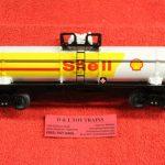 83242 O scale 3 rail Shell Oil single dome tank car