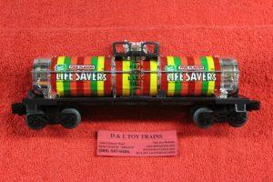 9278 Lionel O-27 scale 3 rail Used Life Savers tank car