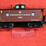 olr169 O Line Repoductions O scale 3 rail Pennsylvania extended vision caboose