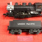 1704 Atlas O scale 3 rail Union Pacific 0-6-0 steam engine