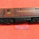 18567 Lionel O scale 3 rail Pennsylvania GP9 diesel engine