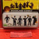 2722 Woodland Scenics O scale train personnel figures