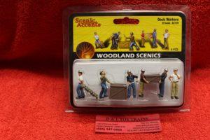 2729 Woodland Scenics O scale Dock workers figures
