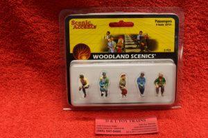 2731 Woodland Scenics O scale passenger car figures