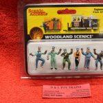 2733 Woodland Scenics O scale Engineer figures