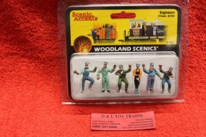 2733 Woodland Scenics O scale Engineer figures