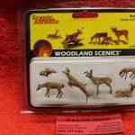 2738 Woodland Scenics O scale Deer figures