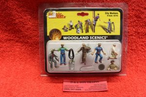2742 Woodland Scenics O scale City workers figures
