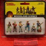 2743 Woodland Scenics O scale Jug band figures
