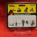 2751 Woodland Scenics O scale Gone Fishing figures