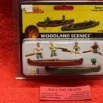 2755 Woodland Scenics O scale Canoer figures