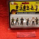 2761 Woodland Scenics O scale Road crew figures