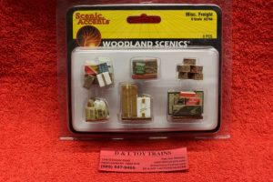 2766 Woodland Scenics O scale Misc. Freight items