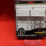 3000 Woodland Scenics O scale Barbed wire fence