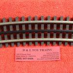 6063 Atlas O scale 3 rail O-72 1/2 curve track