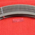12033 Lionel O scale 3 rail O-36 radius curve Fastrack 4 pack