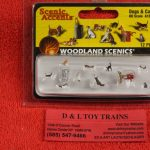 1841 Woodland Scenics HO scale Dogs & Cats figures